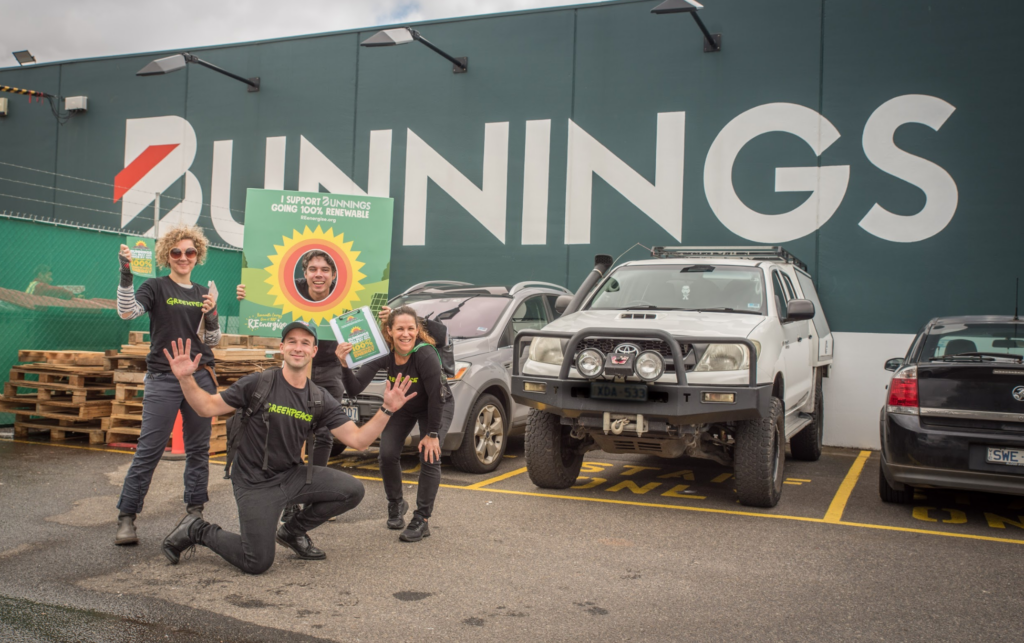 Bunnings: Lowest emissions are just the beginning!